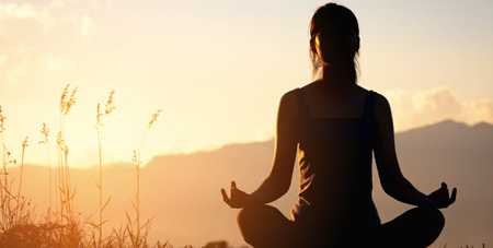 The Relaxation Response broke down sitting meditation into 2 simple steps. Try it! Sitting meditation may be right for you.