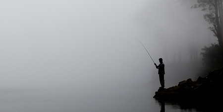 The next level of fishing meditation is the spiritual pilgrimage to exotic fishing destinations.