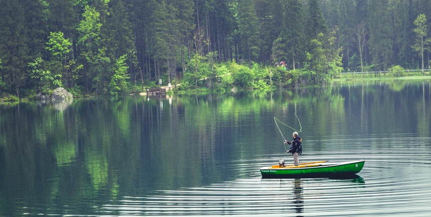 """Fishing Meditation! ... Peace In Nature, Time-Honored Action Meditation for 50,000,000 Americans Where a """"River Runs Through"""" Their World!"""