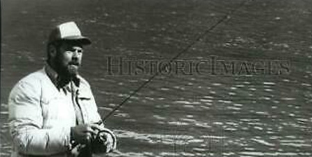 Rams defensive star and Hall-of-Fame great Merlin Olsen calmed his nerves before a football game by visualizing fly fishing.