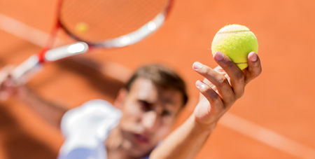 Learning how to meditate in brief intervals is key for the high-stress sport of tennis.